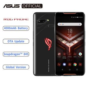 Image 1 - ASUS ROG telefon ZS600KL küresel sürüm Smartphone 8GB RAM 128/512 ROM Snapdragon™845 NFC Android 8.1 OTA güncelleme 4000mAh