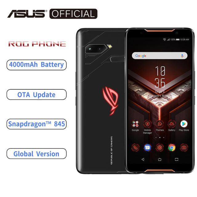Asus Rog Telefoon ZS600KL Global Versie Smartphone 8 Gb Ram 128/512 Rom Snapdragon™845 Nfc Android 8.1 Ota Update 4000 Mah