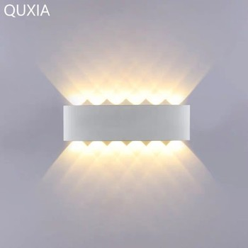 Modern Aluminum Led 10W 12W Wall Light IP66 Outdoor Indoor Up Down Home Decor Stairs Aisle Bedroom Background Wall Lamp Sconces led wall light for home modern sconces wall lamp 10w black
