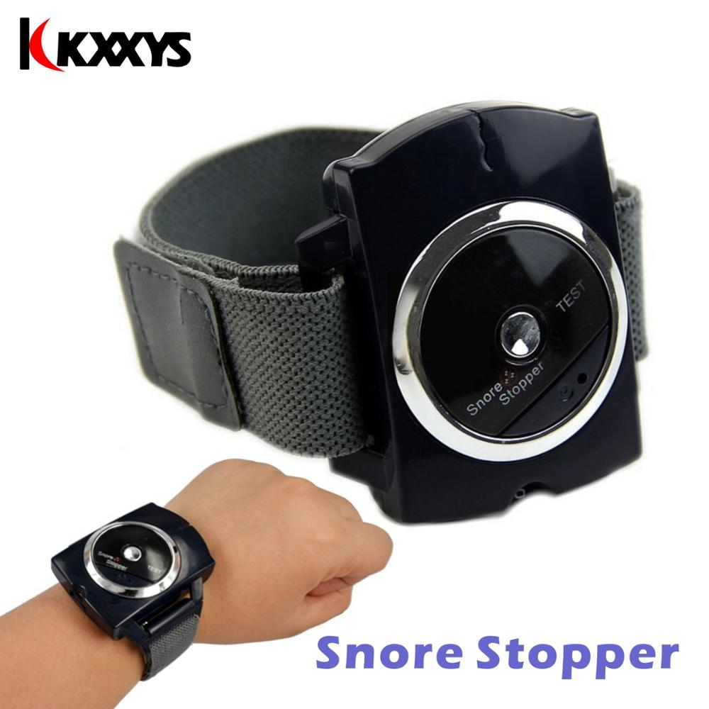 Intelligente Snore Blocker Stopper Infrared Stop Snoring Wristband Help Sleeplessness For Health Care Tools Wristband Sonno Aid
