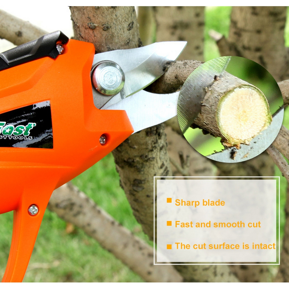 3.6V Battery Electric Pruning Shears Cordless Orchard Branches Cutter Cutting Tools Pruner Scissor Garden Pruning Tools Secateur