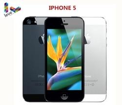 Перейти на Алиэкспресс и купить apple iphone 5 mobile phone 16gb/ 32gb/64gb rom ios 4.0 inch 8mp wifi gps used unlocked smartphone