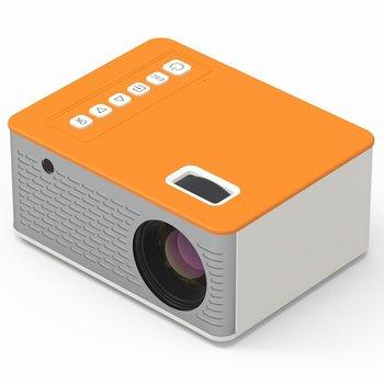 Uc28d mini projetor led portátil casa usb telefone móvel 10 ansi 480*272 cartão tf av ir 5v 2a u disco dvd tv caixa 3.5mm av