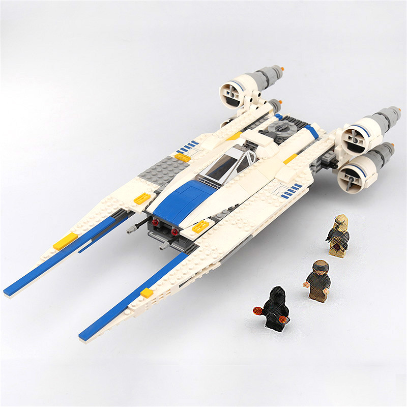 05054 Star Wars The Rebel U Wing Fighter Jets Model 679pcs Building Blocks Bricks Toys Kids Gifts Compatible with 75155-in Blocks from Toys & Hobbies