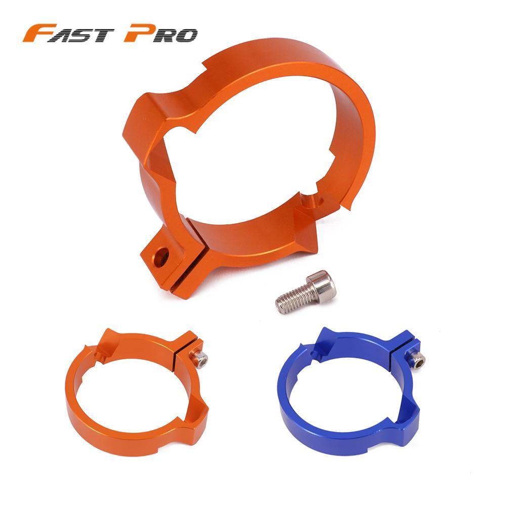 Engine Muffler Exhaust Pipe Clamp Adaptation Flange For KTM Husqvarna TC250 TE250 TE300 TX300 SX250 EXC250 EXC300 2017 2018|Exhaust & Exhaust Systems| |  - title=
