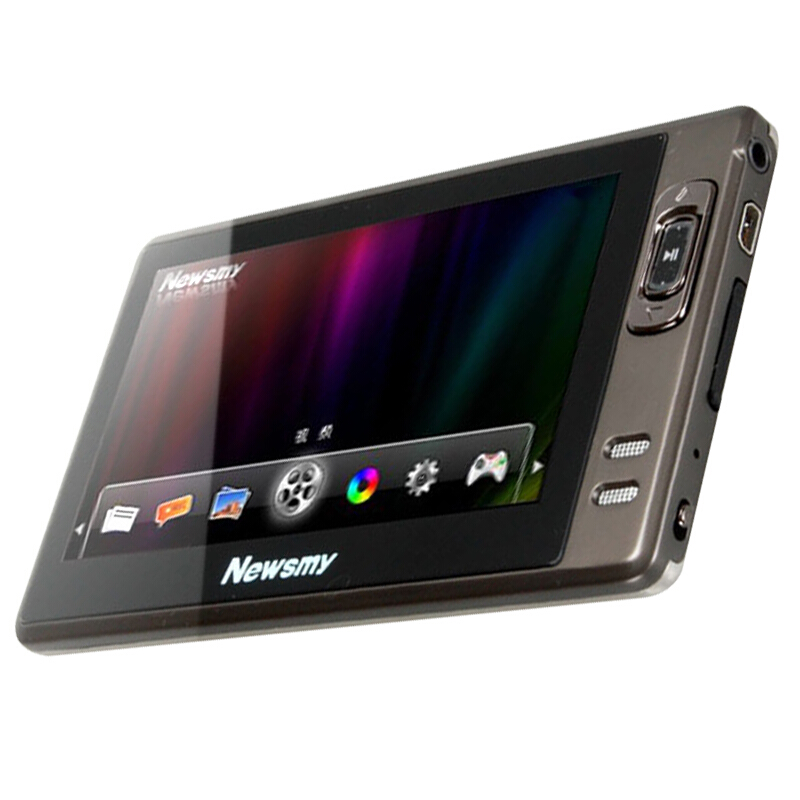 Newsmy A11HD+ Walkman 4.3 inch Big Screen <font><b>MP4</b></font> Portable 1080P HD Video MP5 Radios E-book Music Player Support OTG 64GB/128GB TF image