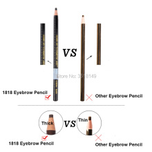 White Black Grey Brown Light Natural Color Waterproof Microblading Eyebrow Pencil Peel-off Water-Resistant