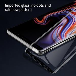 Image 4 - NILLKIN voor Samsung Note 9 Glas Screen Protector 3D Volledige Cover Lijm 9D Rand Veiligheid Beschermende Gehard Glas voor Galaxy note9