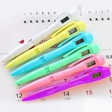 Многофункциональные электронные цифровые часы шариковая ручка