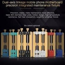 Soporte de PCB WL accesorio de placa base de alta temperatura para iPhone Android IC Chips placa de circuito de reparación de abrazadera