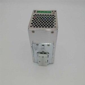 Image 2 - מסילת Din החלפת ספק כוח 120W 12v 24v 48v DC AC DR120W פלט יחיד LED נהג SMPS מתג שנאי
