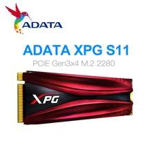 ADATA XPG S11 Pro GAMMIX PCIe Gen 3x4 M.2 2280 katı hal sürücü dizüstü masaüstü için dahili sabit disk 256G 512G M.2 SSD
