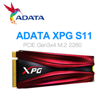 ADATA XPG S11 Pro GAMMIX PCIe Gen 3x4 M.2 2280 노트북 데스크탑 내장 하드 드라이브 용 솔리드 스테이트 드라이브 256G 512G M.2 SSD