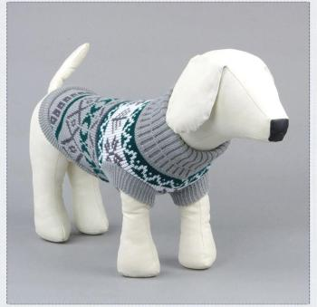 Dog Sweater Winter Vest Christmas Clothes Puppy Holiday Clothing For Small Medium Dogs French Bulldogs ropa perro dachshund image