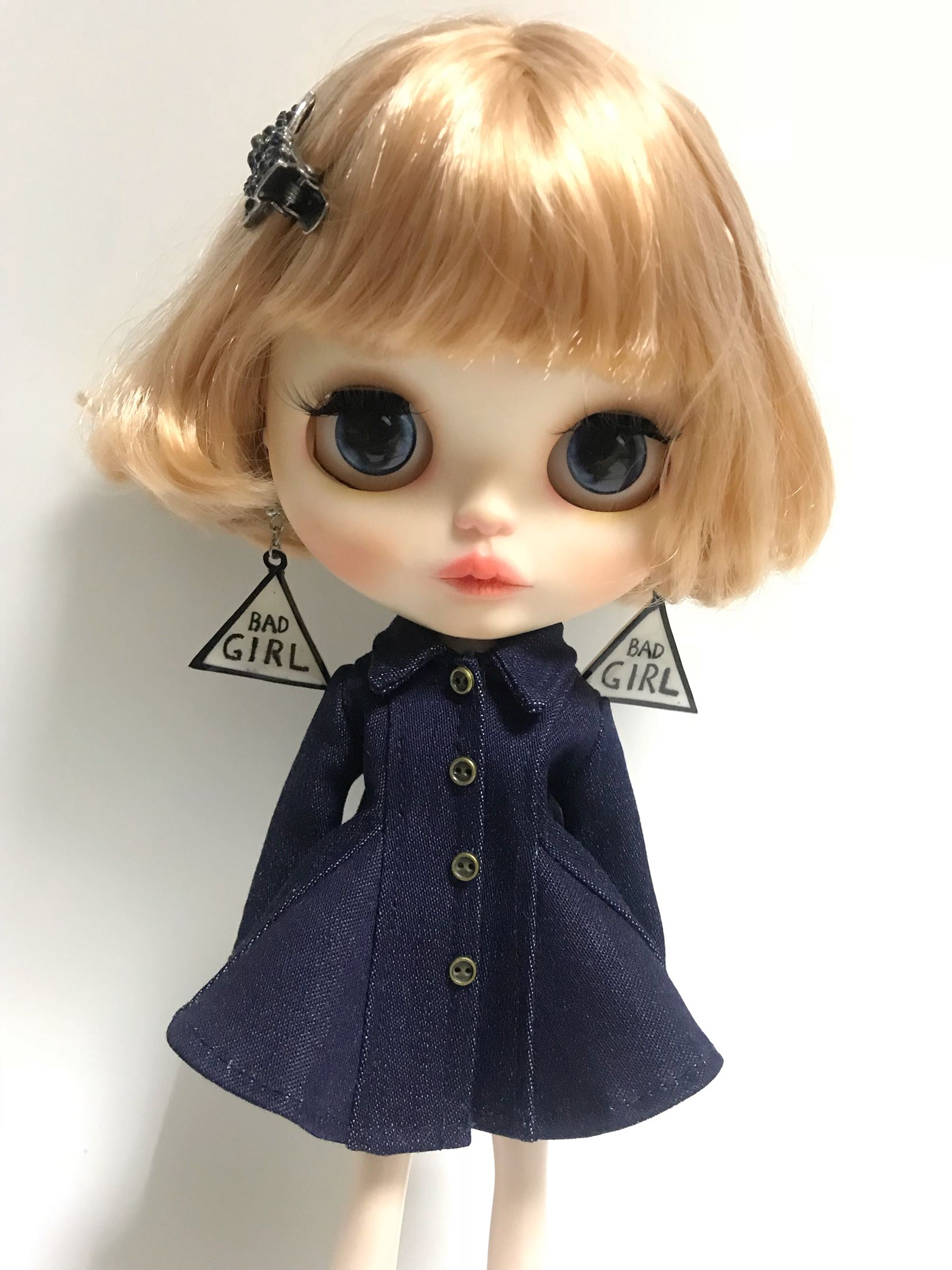 Doll Clothes Cardigan Sweater For Blythe 1//6 BJD Doll Clothing Accessory
