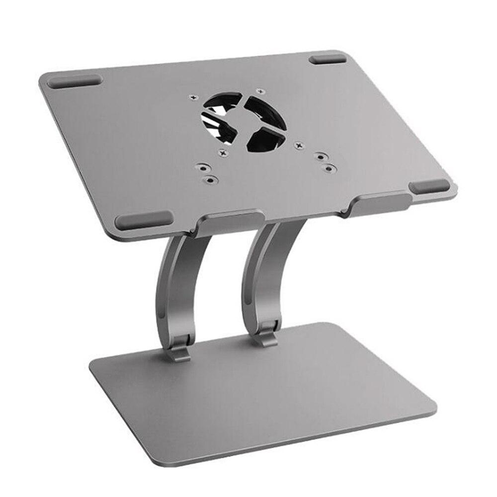 Mode grand support d'ordinateur portable réglable avec USB Hub refroidisseurs de ventilateur tablettes livre ordinateur portable support de refroidissement pour MacBook Air/Pro