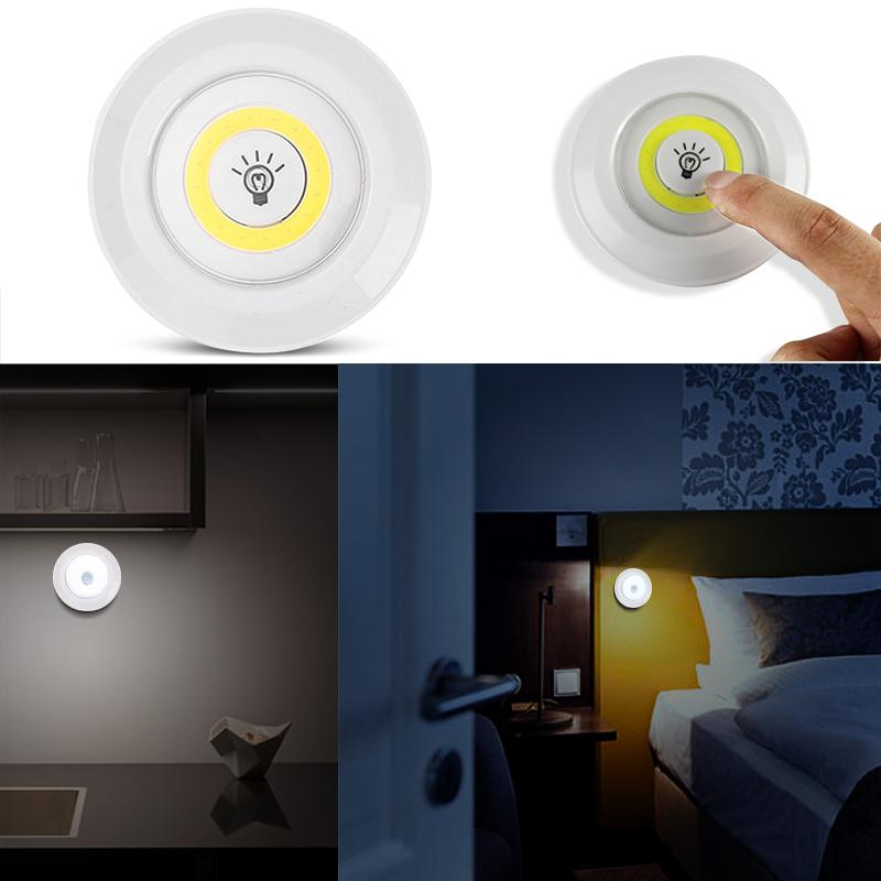 Dimmable LED Under Cabinet Light With Remote Control Battery Operated LED Closets Lights For Wardrobe Bathroom Lighting