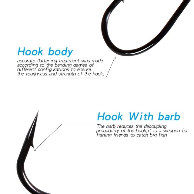 Amazing 30pcs/lot LUSHAZER Fishing hooks Carbon Steel Fishhooks cb5feb1b7314637725a2e7: 1|1I0|2|2I0|3|3I0|4I0|5I0