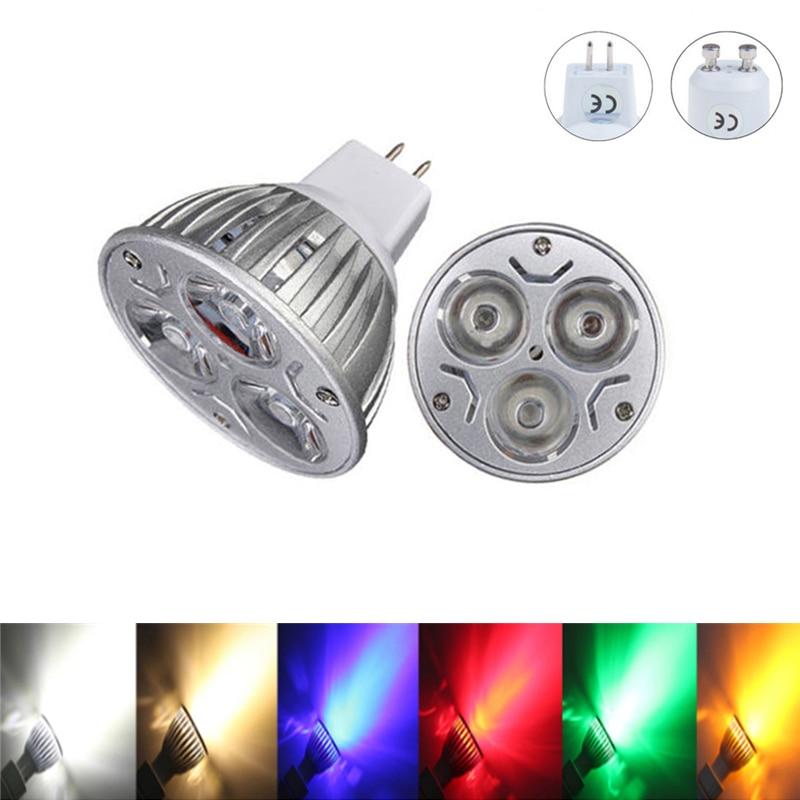 Светодиодный светильник GU10, 9 Вт, 12 Вт, 15 Вт, 85-265 в, светодиодный энергосберегающий Точечный светильник, белый/красный/желтый/синий/зеленый, Д...