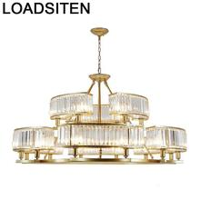 Industrial Decor Chambre Fille Industriele Lustre Pendente Crystal Nordic Deco Maison Luminaria Lampen Modern Hanging Lamp