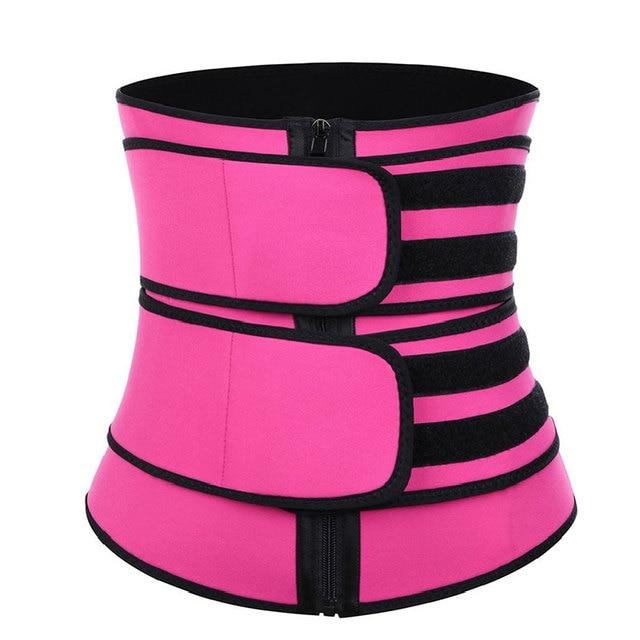 Women Waist Trainer Belt Weight Loss Cincher Body Shaper Tummy Control Strap Slimming Sweat Fat Burning Girdle 5