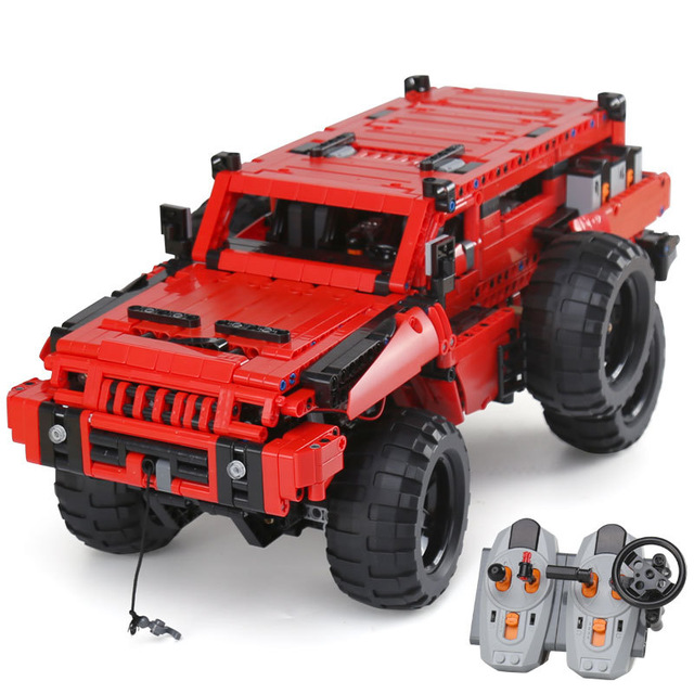 23007 Technic Series The Marauder Set Compatible with lepining 4731 Building Blocks Bricks Toys with Motors and Lights DIY Gifts