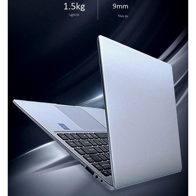 Processeur 14 pouces N3450 8G + 128G prise en charge de la mémoire 2.4/5GWiFi Quad-Core ordinateur portable de jeu (prise ue)
