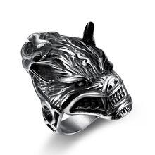 Viking odin wolf ring Модные аксессуары из нержавеющей стали