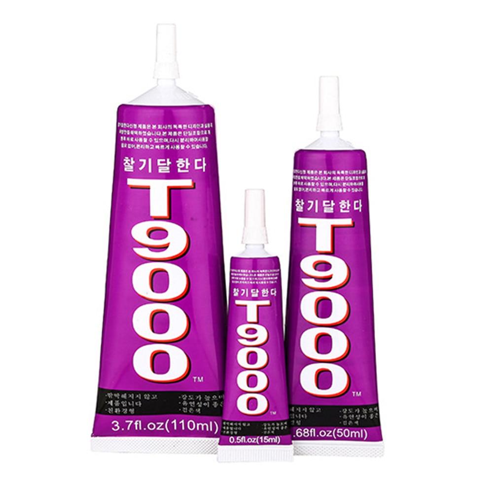 15ml T9000 Transparent Liquid Glue More Powerful New Epoxy Resin Adhesive Sealant Mobile Phone Screen Repair Tool