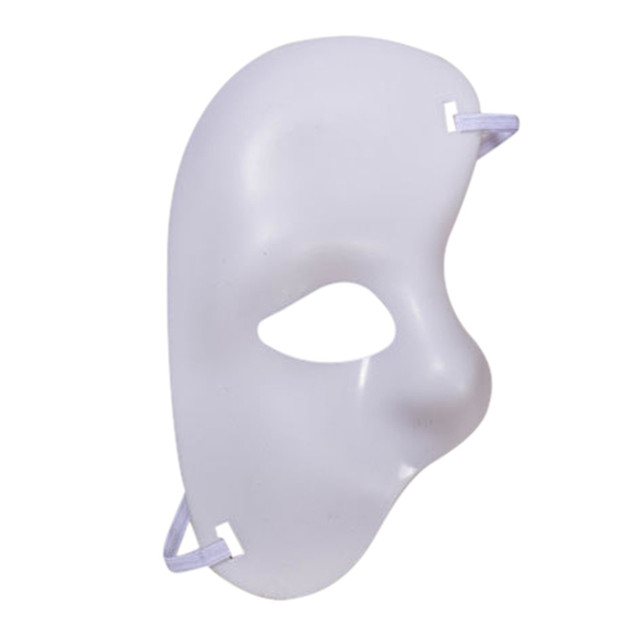 Masquerade  Venetion Mask For Party Half Face Phantom Of The Opera Mask Mardi Gras Mask Masquerade MaskNovelty & Gag Toys
