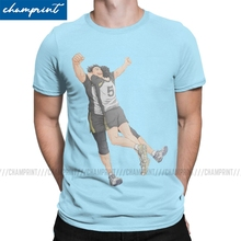 T-Shirts Haikyuu Bokuaka Tees Short-Sleeve Anime Original Clothes No for Men Volleyball
