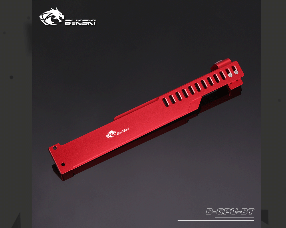 Bykski B-GPU-BT, Aluminum Alloy Graphics Gard Bracket, GPU Holders, For Air Cooling And Water Cooling System