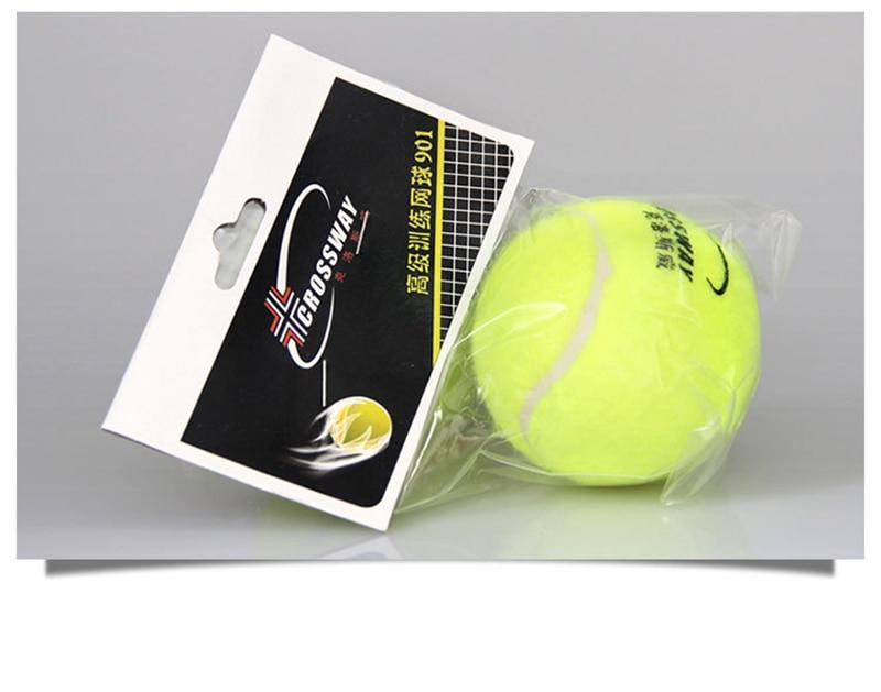 1 Piece Professional Tennis Training Practice Balls Rubber Ball For Beginner