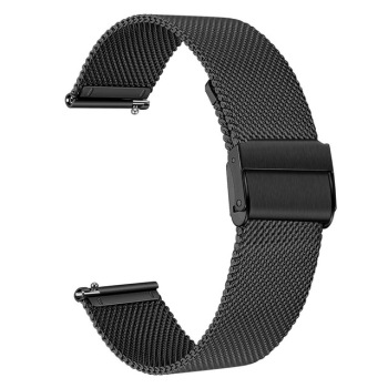 20MM Metal Wirst Strap For Xiaomi Huami Amazfit GTS Smart Watch Band Stainless Steel Replacement Strap For Amazfit Bip Youth stainless steel mesh bracelet smart watch band magnetic watch strap watch replacement for xiaomi mi amazfit bip youth watch