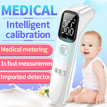 LIERDOCT Baby Forehead Thermometer Infrared Digital LED Body Temperature Meter Non contact Thermometer Gun Children Adult Fever