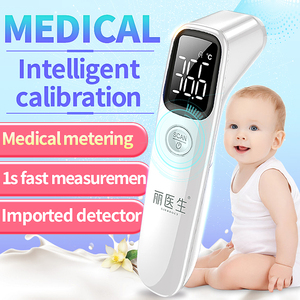 Image 1 - LIERDOCT Baby Forehead Thermometer Infrared Digital LED Body Temperature Meter Non contact Thermometer Gun Children Adult Fever