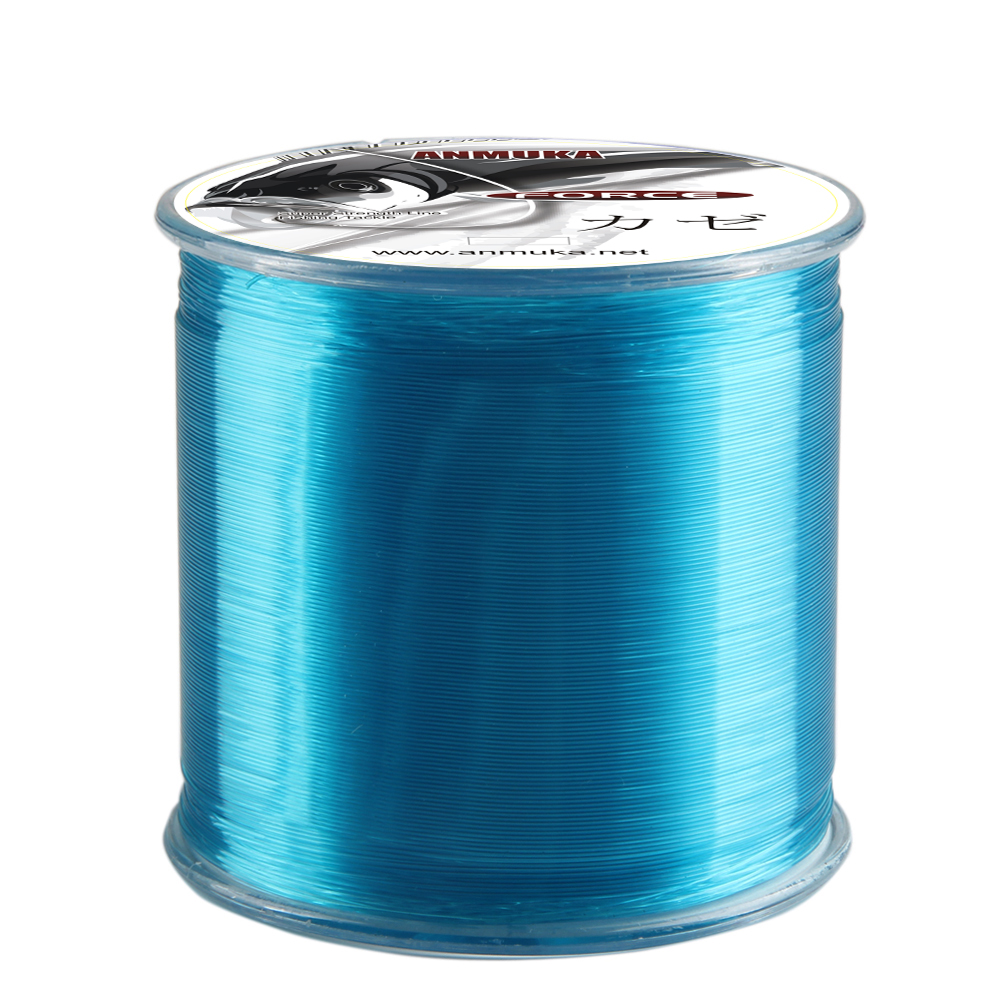 Super 500M  Japanese Durable Monofilament Rock Sea Fishing Line Nylon Fishing Line Thread Bulk Spool All Size 0.6To 8.0