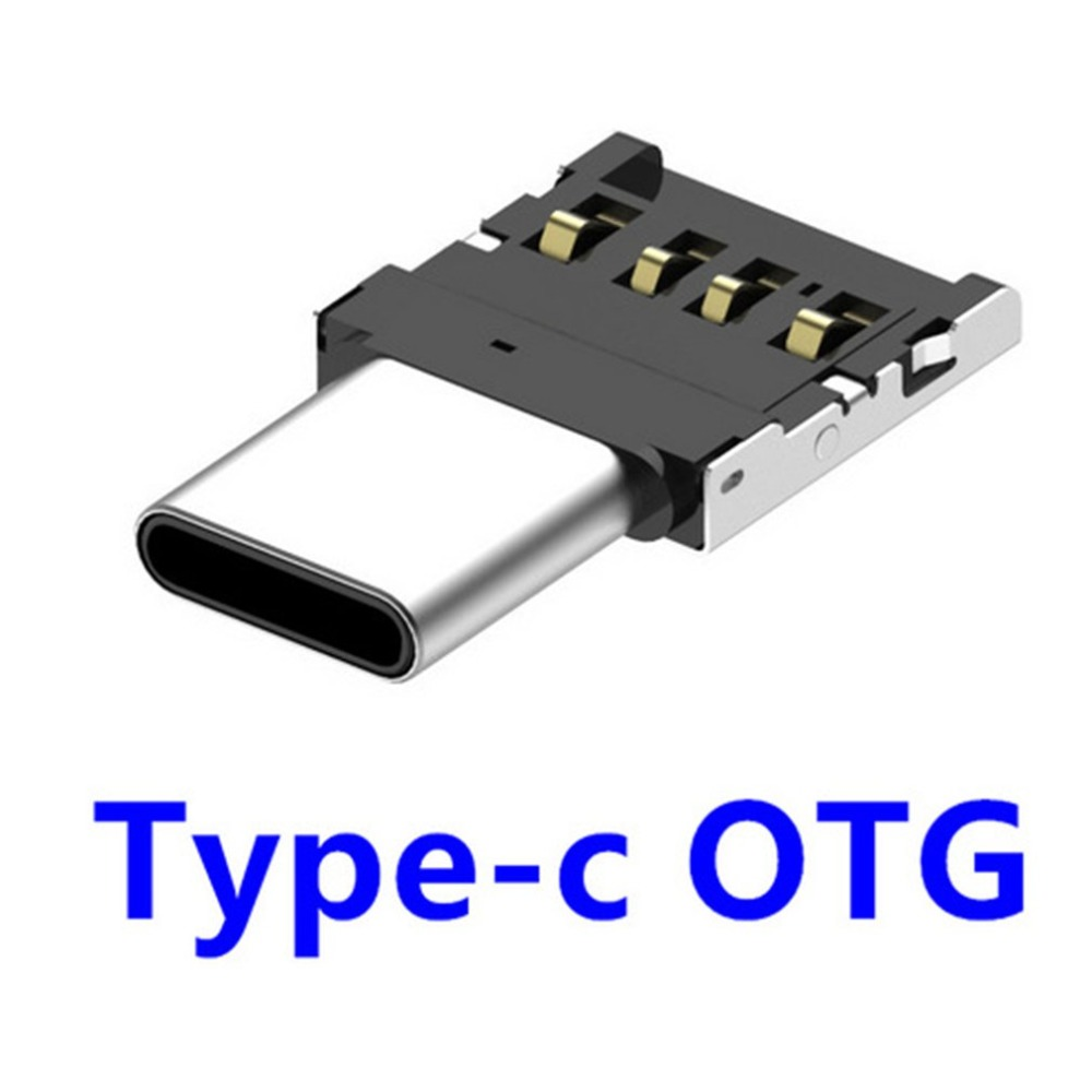 USB To Type C OTG Connector Adapter Multifunction USB 2.0 Converter Female To Male For Laptop Desktop PC Smart Phone