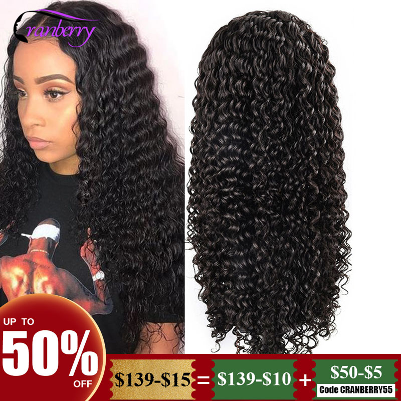 Cranberry Hair Deep Wave Wig 13x4 Lace Front Wigs For Black Women 100% Remy Hair Peruvian Wig Lace Front Human Hair Wigs