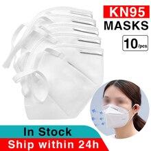 KN95 Gesicht Maske Einweg Masken Filter Gesicht Mund Maske Anti grippe PM 2,5 Atmen Nicht gewebte Elastische Mund Masken