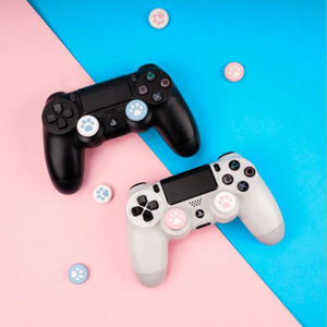 Image 2 - Cat Paw Sakura Joystick Cover Thumb Stick Grip Cap For Sony Playstation Dualshock 4/3 PS4/PS3/Xbox 360/Switch Pro Controller