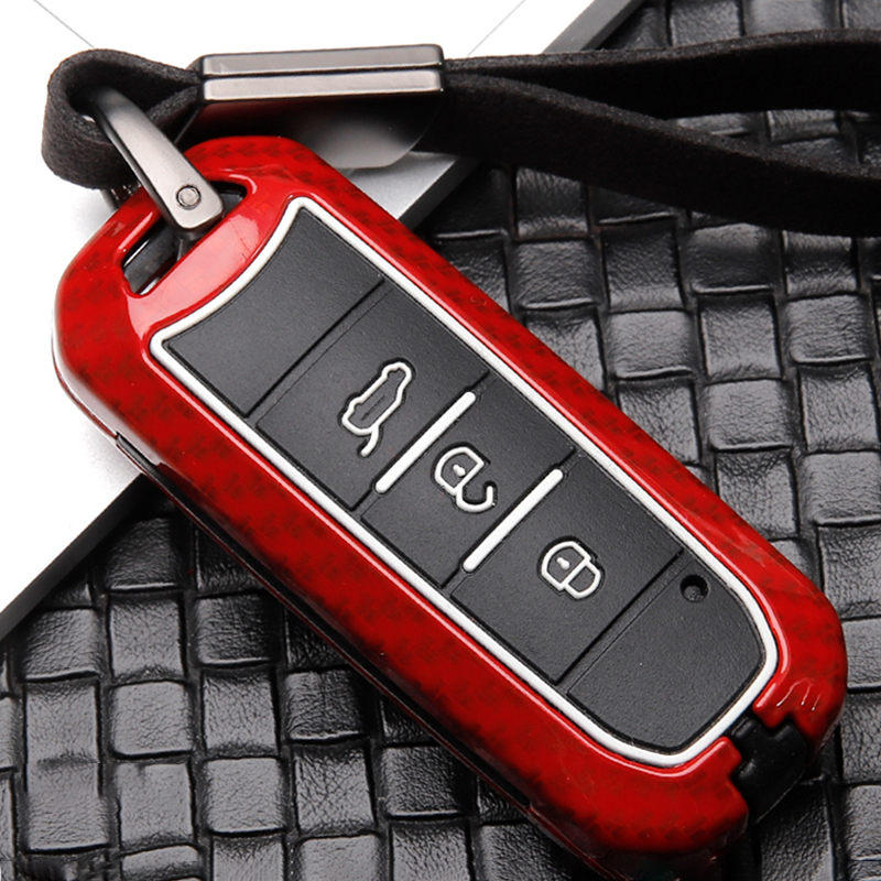 New Hot Sale Zinc Alloy+Silicone Car Key Case Cover Keychain For Baojun 510 730 360 560 RS-5 530 630 For Wuling Hongguang S