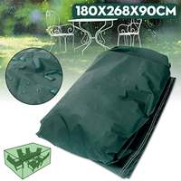 180x268x90cm Garden Outdoor Furniture Waterproof Breathable Dust Cover Table Shelter Woven Polyethylene|Furniture Accessories| |  -