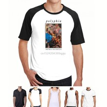 Polyphia Men Melting Painting 티셔츠 XX-Large White(1)(China)