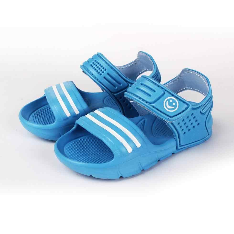 2018 новые летние детские сандалии Нескользящие износостойкие летние сандалии для маленьких мальчиков повседневные сандалии детская обувь для мальчиков и девочек
