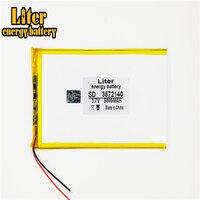 3.7 v 5000 mah 3572140 bateria do íon do lítio do polímero/li-íon para o banco de potência do telefone celular do pc da tabuleta