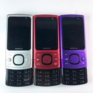 Image 2 - Teléfono Móvil NOKIA 6700 Silder 3G, GSM, desbloqueado, teclado azul e inglés, gran oferta