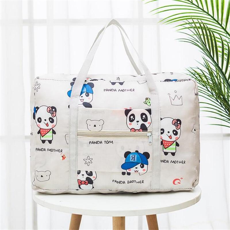 2020 Hot Large Capacity Weekend Bag For Travel Clothing Toiletries Luggage Bag Organizer Women Printed Travel Bags Packaging Bag