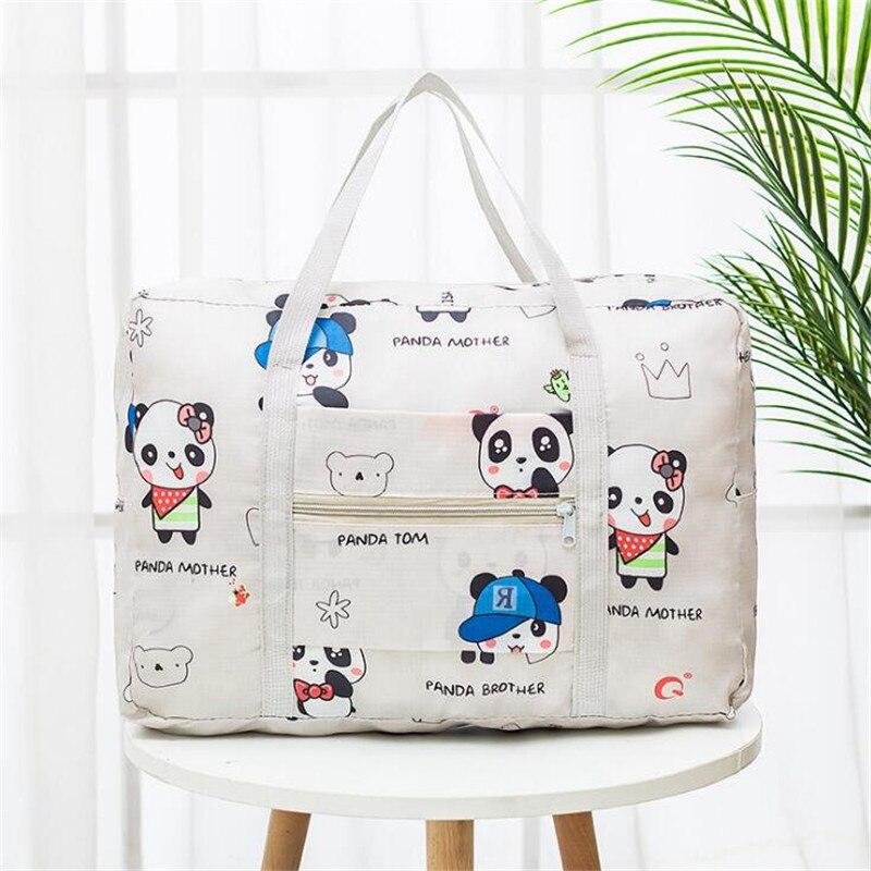 Grote Capaciteit Weekend Bag Voor Reizen Kleding Toiletartikelen Bagage Tas Organizer Vrouwen Gedrukt Reistassen Verpakking Zak