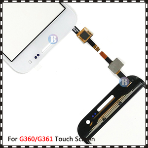 """Image 5 - 4.5 """"Voor Samsung Galaxy Duos Core Prime G360 G360H G3608 G361 G361H G361F Touch Screen Digitizer Sensor Glas Lens panel"""